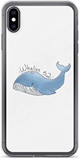 iPhone Xs Max Pure Clear Case Cases Cover Whalien 52 {BTS}