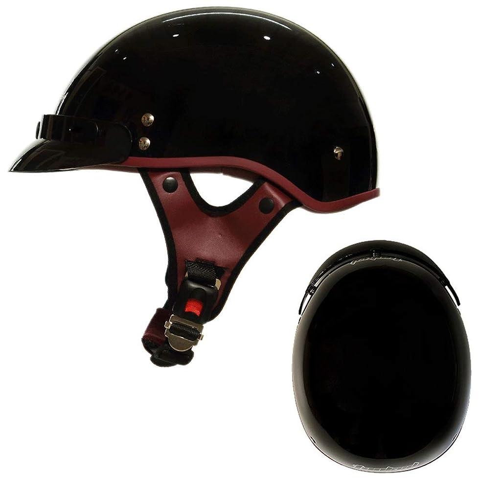 純粋に取得するキュービックバイク ヘルメット 大人のバイクヘルメットレトロ機関車の男性と女性のオートバイのハーフヘルメットユニバーサルハーフヘルメットアウトドアサイクリング活動のすべての種類に適しヘッドを保護するために使用します SLTHX (Color : Black...