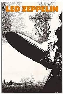 Led Zeppelin 1 Poster Satin Matt Laminated - 91.5 x 61cms (36 x 24 Inches)