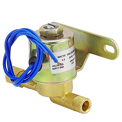 TOMOON 4040 B2017-S85 B2015-S85 Water Solenoid Valve Humidifier Valve Compatible with Aprilaire Humidifier 400 500 600 700A 60Hz 2.3W 24V Blue
