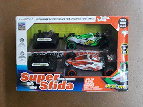 Re.El Toys Supersfida Confezione con 2 Buggy Radiocomandati Scala 1/28 Auto 784, Multicolore, 8001059021574