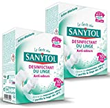 Sanytol 33636100 Desinfectant Linge anti-odeurs Tablettes x 10 - lot de 2