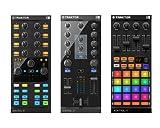 Native Instruments - Set de controladores de sonido Traktor Kontrol Z1, Traktor Kontrol F1 y Kontrol X1 MK2 Digital Mix con tarjeta de sonido