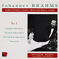 Brahms;Works for Piano 4 Ha