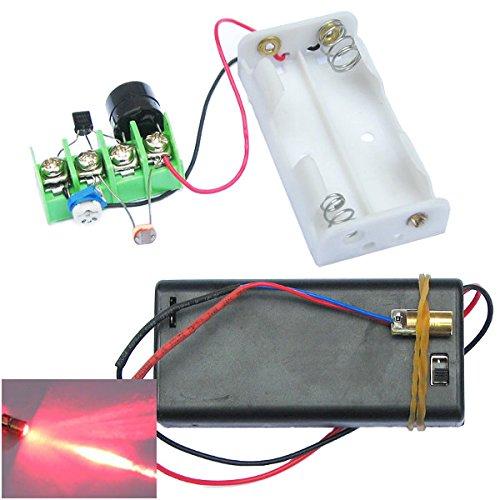ILS–DIY Infrared láser Mirare al módulo antirrobo módulo Alarma Antirrobo