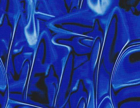 MST-DESIGN Wassertransferdruck Folie I Starter Set Klein I WTD Folie + Dippdivator/Aktivator + Zubehör I 4 Meter mit 50 cm Breite I Alien Blau I CD-21-KF