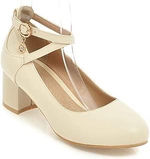 BalaMasa Womens APL12402 Leather Fashion Sandals