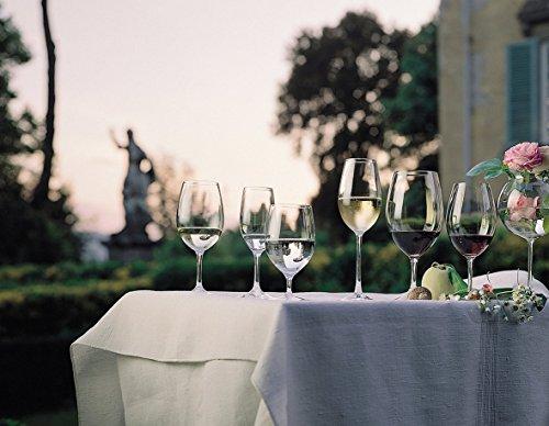 同シリーズには、赤ワインのほか、白ワイン、シャンパーニュなどがあり、上質でお手軽なワインを楽しみたい方におすすめです。カジュアルなラインですが、ステムが長く上品なたたずまいが人気の理由。