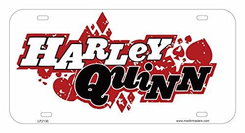 51rjzM1ufZL Harley Quinn License Plate Frames