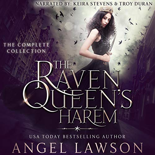 The Raven Queen's Harem: Box Set, Books 1-6 Audiobook By Angel Lawson cover art