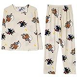 パジャマ ルームウェア メンズ レディース トムとジェリープリント ロングパンツ 長袖 上下セット 部屋着 肌触り優しい 良い通気性 寝間着 春 夏 秋 冬