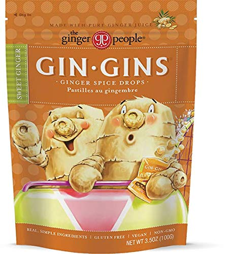 The Ginger People Gin Gins Drops, Ginger Spice, 3.5 Ounce by The Ginger People