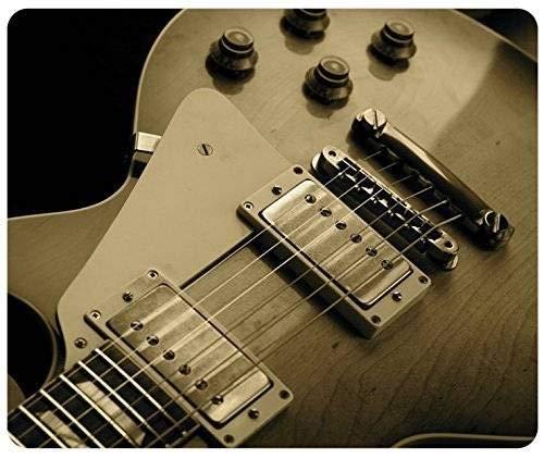 Nahaufnahme Musik Gibson Les Paul Gitarren Gaming Mouse Pad Mousepad Mat