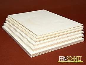 Sperrholz 30,50€//m² 15 mm Birke Sperrholzplatte Modellbau Bastelholz 100 x 50 cm