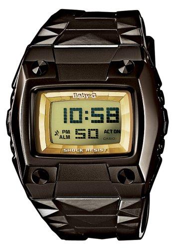 CASIO Baby-G BG-2100-1ER - Reloj de Cuarzo con Correa de Resina para Mujer (con cronómetro, Alarma, luz), Color Negro