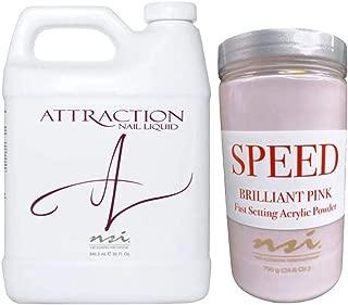SPECIAL#12 - ATTRACTION Acrylic Nail Liquid 946ml + Nail Powder 700g