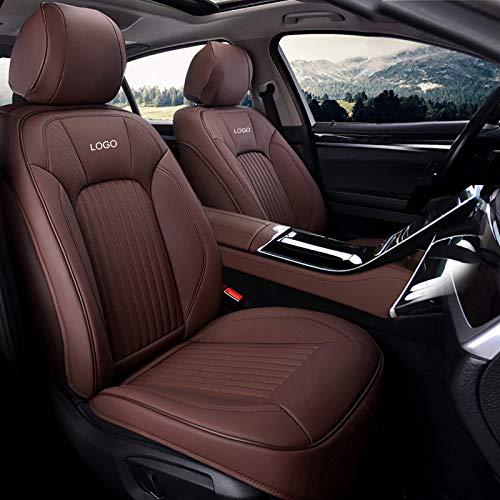 Whitejianpeak Compatible con Cojines de Asiento de automóvil Mercedes-Benz Clase B, Fundas de Asiento Interior de automóvil con Todo Incluido, con Logotipo Bordado