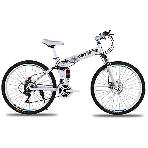 Link Co Cambio de absorción de Choque Bicicleta de montaña Plegable Aleación...