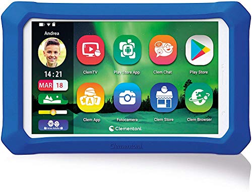 Clementoni Clempad X Plus-tablet for children with keyboard (Italian version), 6 years+, 16625