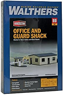 Walthers Cornerstone Office and Guard Shack