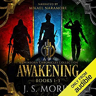 Twinborn Chronicles: Awakening Collection audiobook cover art