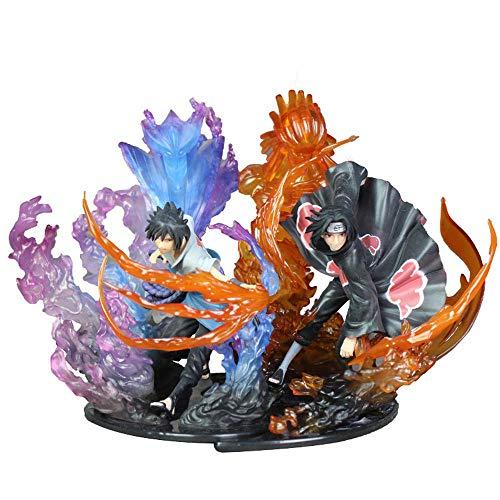 JIAWEI Action Figures Naruto Uchiha Itachi Uchiha Sasuke Susano Nobu Anime Character PVC Modello A Mano 1