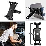 BH Fitness – Soporte para Smartphone y Tablet para Máquinas de Fitness 0190906 – Regulable Entre 4,7 y 13 Pulgadas