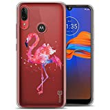 ZhuoFan Motorola E6 Plus Case Clear Slim, Phone Case Cover