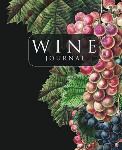 Wine Journal: Tasting and Impressions - Wine Folly Notebook and Diary - 7.5 x 9.25 Inches - 110 Pages
