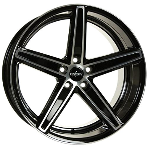 OXIGIN 18 Concave black full polish 9x20 ET35 5.00x112.00 Hub Bore 66.60 mm - Alu felgen