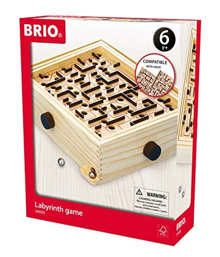 Labyrinthe en bois Brio