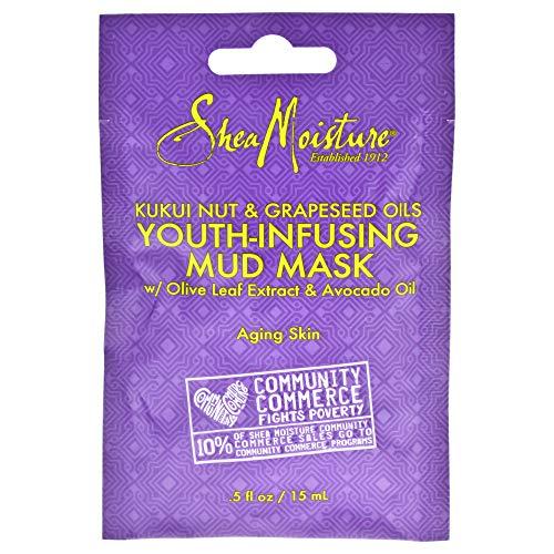SHEA MOISTURE U-SC-4832 Kukui Nut & Grapeseed Oils Youth-Infusing Mud Mask