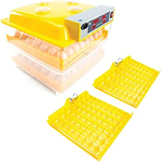 Automatic 112 Egg Incubator + Accessories Hatching Eggs Chicken Quail Duck Goose