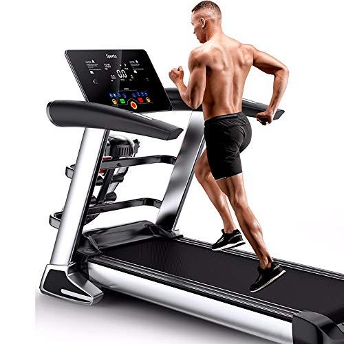 MTSS Cinta para Caminar, Andar Correr Cintas, Pantalla LCD a Color HD/Bocina Bluetooth/ 12 Modos de…