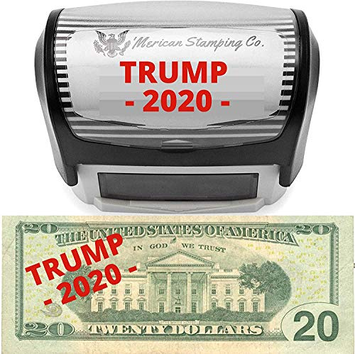 Donald Trump 2020 Stamp by 'Merican Stamping Co. | Donald Trump Lives Here Stamp Self Inking Stamp | MAGA 2020