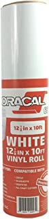 Oracal 651 Rolls of Vinyl for Cricut, Silhouette, Cameo, Craft Cutters, Printers, and Decals - Gloss Finish - Outdoor and Permanent (12.125
