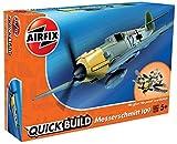 Airfix Quick Build - Modelo de avión Messerschmitt Bf109e