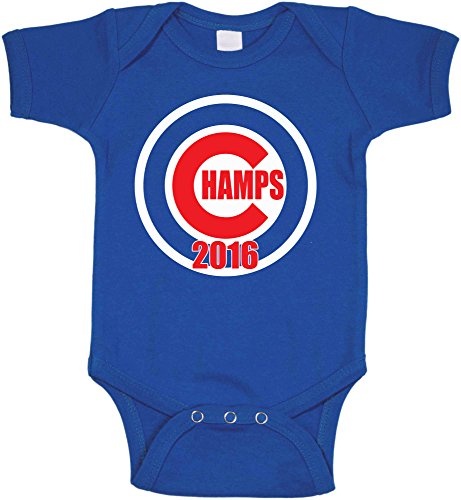 The Silo Blue Chicago Champs Baby 1 Piece 6 Months