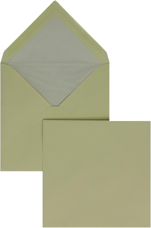 Farbige Briefhüllen   Premium   165 x 165 mm Creme (100 Stück) Nassklebung   Briefhüllen, KuGrüns, CouGrüns, Umschläge mit 2 Jahren Zufriedenheitsgarantie B01DULEMW2 | Hochwertige Produkte