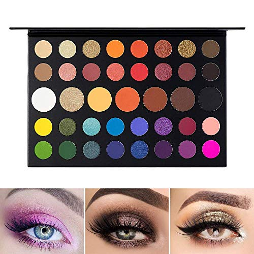 UCANBE Lidschatten-Palette Makeup Contour Metallic Lidschatten-Palette Makeup Matte Shimmer 39...
