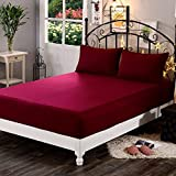 Dream Care Waterproof Terry Cotton Fitted Mattress Protector for King Size Bed