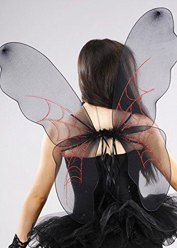 Boland Ailes de fées Gothique araignée Noire Halloween