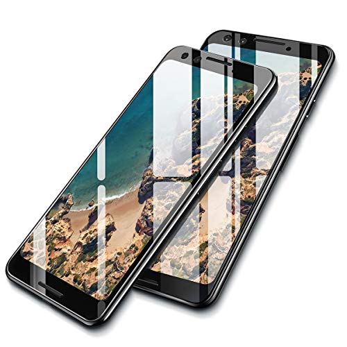 AINOPE [2-Pack] Screen Protector Tempered Glass Compatible Google Pixel 3, [Full-Coverage] Ainope Edge to Edge Screen Protector 0.33mm Compatible for Google Pixel 3 [Case Friendly] Anti-Fingerprint