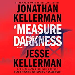 A Measure of Darkness audiobook cover art