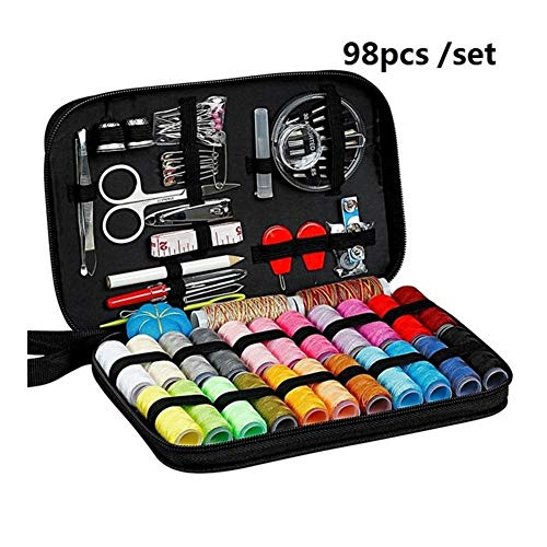 Fantastic Prices! Sewing Kits DIY Multi-Function Sewing Box Set for Hand Quilting Stitching Embroide...