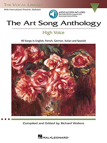 The Art Song Anthology - High Voice: With online audio of...