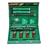 HUXIZ Destornilladores 38 en 1 Juego de herramientas de reparación de precisión, kit de herramientas S2 de aleación de acero para teléfono celular para portátil iPhone