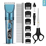 Domipet Dog Clipper Dog Grooming Clippers for Pets Grooming Clippers Cat Hair Trimmer