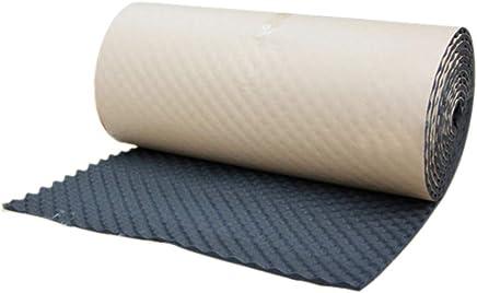 sourcingmap® Pannello Antirombo Antivibrante Fonoassorbente Foam Auto Insonorizzante 50x300cm