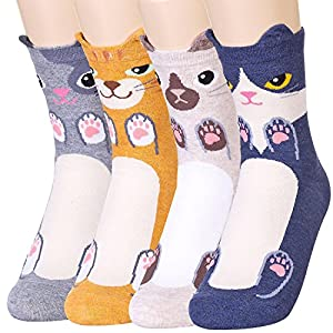 Funny Cat socks for cats Lovers